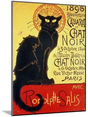 Reopening of the Chat Noir Cabaret, 1896-Th?ophile Alexandre Steinlen-Mounted Giclee Print
