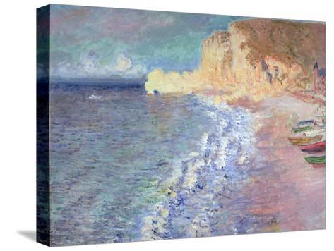 Morning at Etretat, 1883-Claude Monet-Stretched Canvas Print