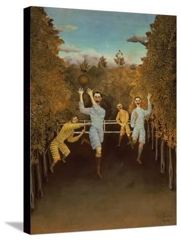 The Football Players,1908-Henri Rousseau-Stretched Canvas Print