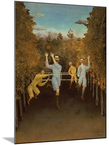 The Football Players,1908-Henri Rousseau-Mounted Giclee Print