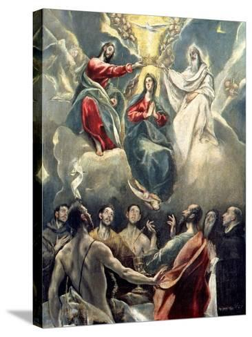 The Coronation of the Virgin-El Greco-Stretched Canvas Print