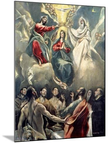 The Coronation of the Virgin-El Greco-Mounted Giclee Print
