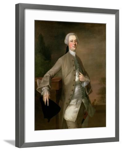 Portrait of David Garrick, 1742-Thomas Gainsborough-Framed Art Print