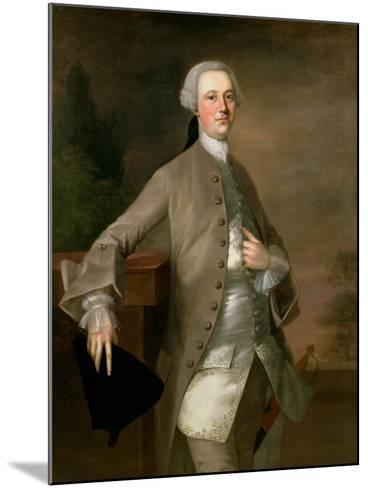 Portrait of David Garrick, 1742-Thomas Gainsborough-Mounted Giclee Print