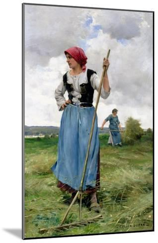 Turning the Hay-Julien Dupr?-Mounted Giclee Print
