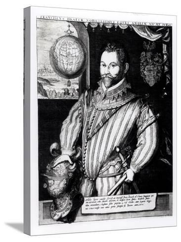 Portrait of Sir Francis Drake--Stretched Canvas Print