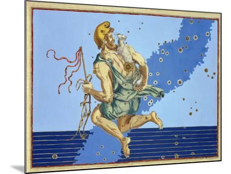 "Auriga, the Constellation of the Northern Hemisphere, from ""Uranometria""-Johann Bayer-Mounted Giclee Print"