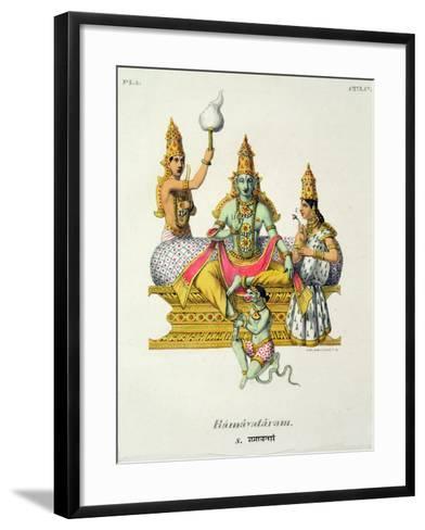 Rama--Framed Art Print