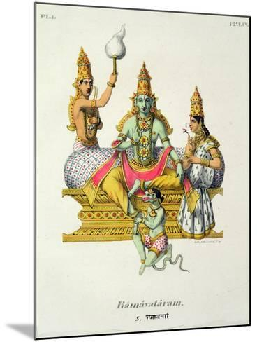 Rama--Mounted Giclee Print