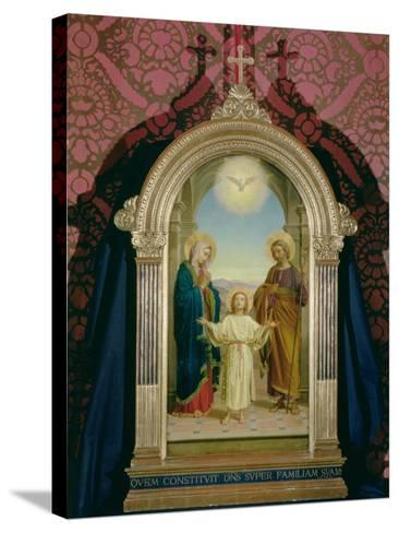 Holy Family, 1898-Alessandro Franchi-Stretched Canvas Print