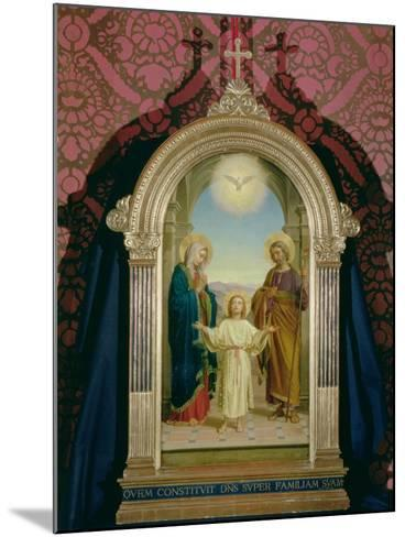 Holy Family, 1898-Alessandro Franchi-Mounted Giclee Print