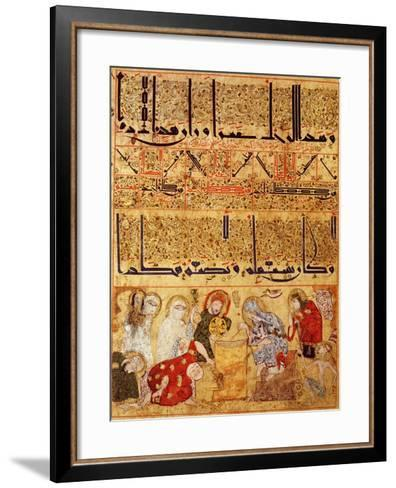 "From ""Treatise of Theriac"" after Galien, 1217--Framed Art Print"