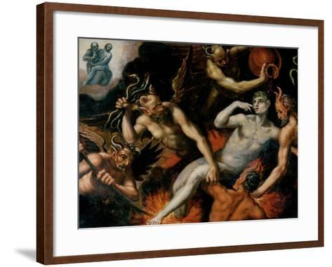 The Torment of Hell--Framed Art Print