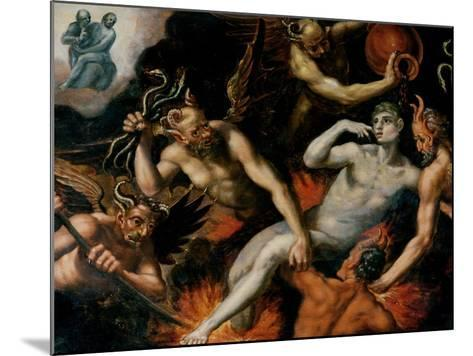 The Torment of Hell--Mounted Giclee Print