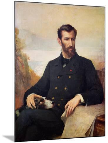 Pierre Savorgnan De Brazza 1886-Xavier Alphonse Monchablon-Mounted Giclee Print
