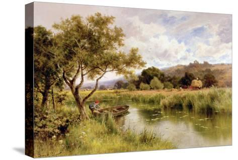 Silent Stream-Henry Parker-Stretched Canvas Print