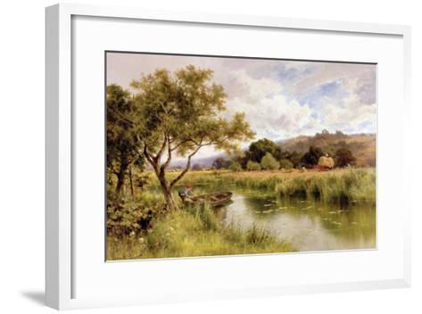 Silent Stream-Henry Parker-Framed Art Print