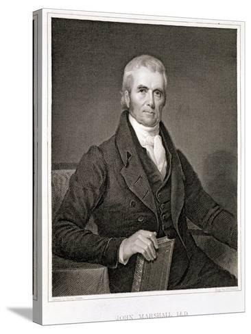 John Marshall-Henry Inman-Stretched Canvas Print