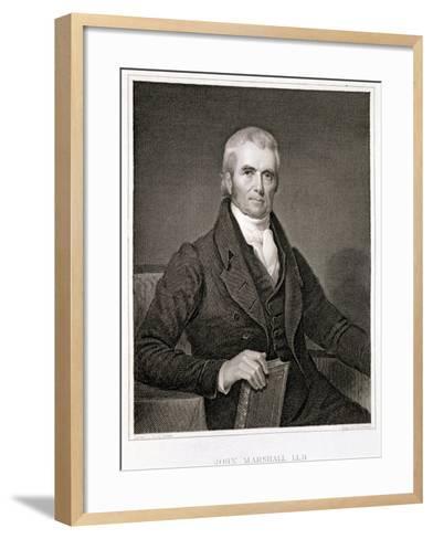John Marshall-Henry Inman-Framed Art Print