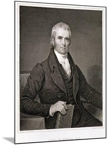 John Marshall-Henry Inman-Mounted Giclee Print