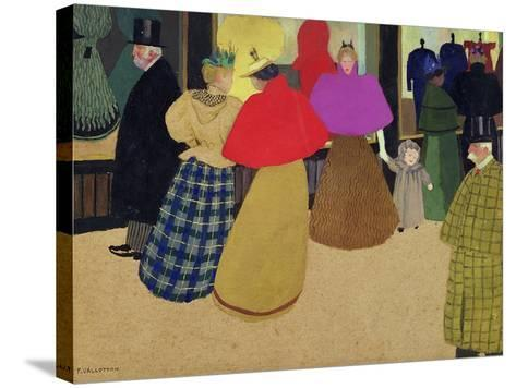Street Scene-F?lix Vallotton-Stretched Canvas Print