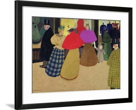 Street Scene-F?lix Vallotton-Framed Art Print