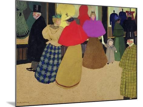 Street Scene-F?lix Vallotton-Mounted Giclee Print
