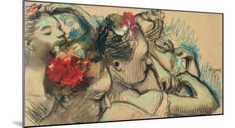 Dancers, circa 1896-8-Edgar Degas-Mounted Giclee Print