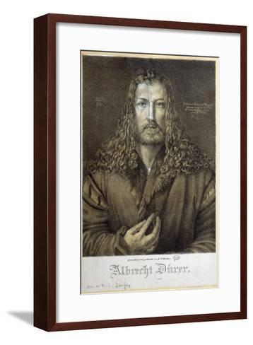 Self Portrait Aged 28, 1500-Albrecht D?rer-Framed Art Print