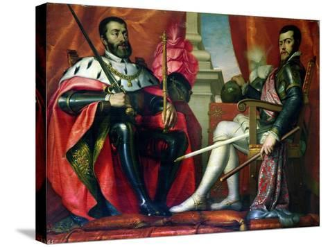 Carlos I and Felipe II--Stretched Canvas Print