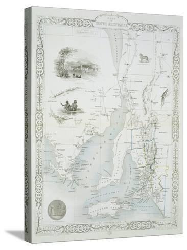 Part of South Australia-John Rapkin-Stretched Canvas Print