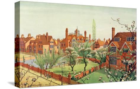 View of Bedford Park, 1882--Stretched Canvas Print