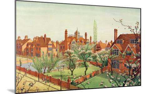 View of Bedford Park, 1882--Mounted Giclee Print