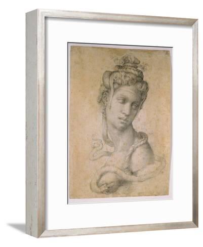 Cleopatra-Michelangelo Buonarroti-Framed Art Print