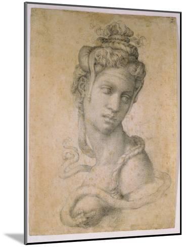 Cleopatra-Michelangelo Buonarroti-Mounted Giclee Print