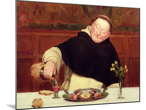 The Monk's Repast-Walter Dendy Sadler-Mounted Giclee Print