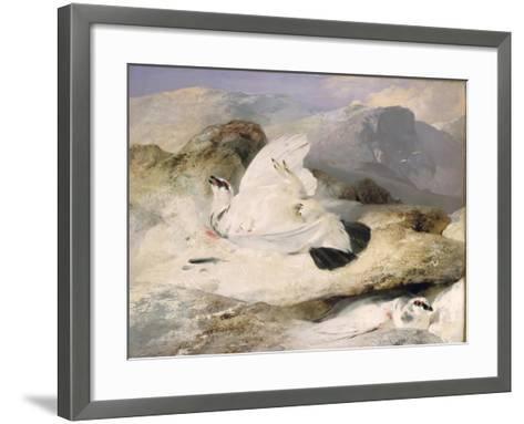 Ptarmigan-Edwin Henry Landseer-Framed Art Print