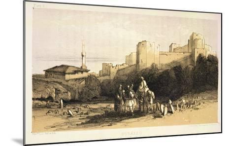 "Durazzo, from ""Journals of a Landscape Painter in Albania and Greece,"" Published 1851-Edward Lear-Mounted Giclee Print"