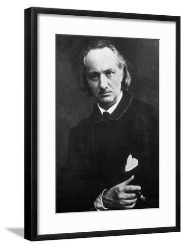 Charles Baudelaire with a Cigar, 1864-Charles Neyt-Framed Art Print