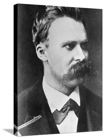 Friedrich Wilhelm Nietzsche 1873--Stretched Canvas Print