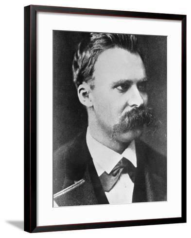 Friedrich Wilhelm Nietzsche 1873--Framed Art Print