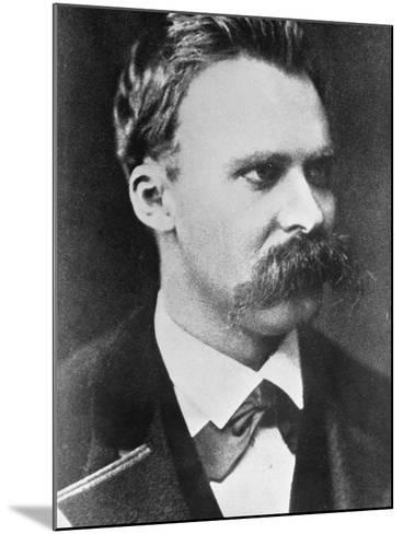 Friedrich Wilhelm Nietzsche 1873--Mounted Giclee Print
