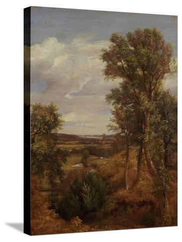Dedham Vale, 1802-John Constable-Stretched Canvas Print