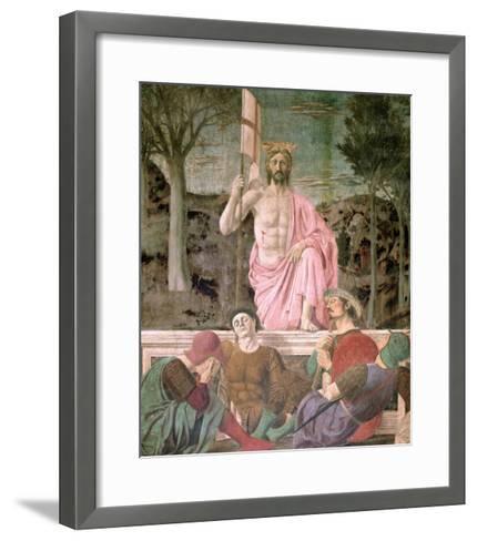 The Resurrection, circa 1463-Piero della Francesca-Framed Art Print