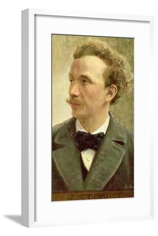 Postcard of Richard Strauss circa 1914- Eichhorn-Framed Art Print