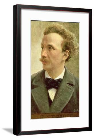 Postcard of Richard Strauss circa 1914- Eichhorn-Framed Art Print