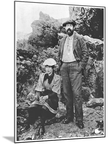 Colette and Willy at Belle-Ile, Summer 1894--Mounted Giclee Print
