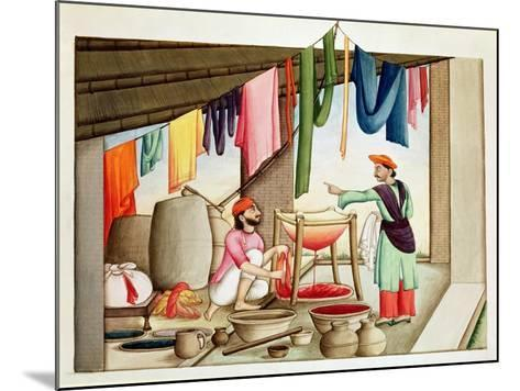 Dyer in India--Mounted Giclee Print