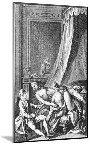 Illustration from Works by the Marquis De Sade--Mounted Giclee Print