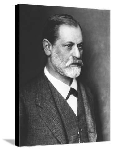 Portrait of Sigmund Freud circa 1900--Stretched Canvas Print